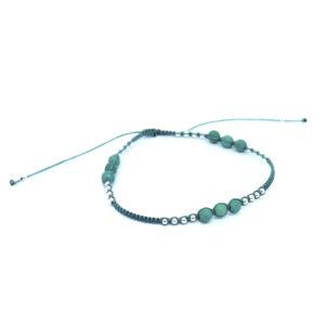 925 Sterling Silber Armband Himmelblauer Türkis