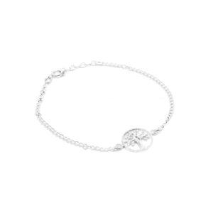 Armband aus 925er Sterlingsilber-Baum des Lebens