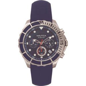 Nautica Herren Uhr Armbanduhr NAPPTR001 Silikon
