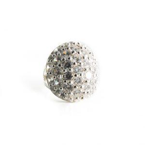 925 Sterling Silber Ring mit Swarovski Steine