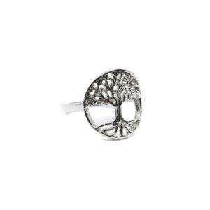 925er Sterling Silber Ring des Lebens