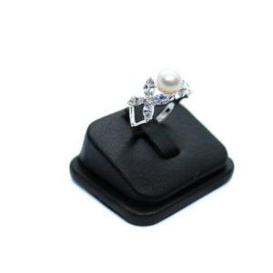 925 Sterling Silber Ring mit Süßwasserperlen
