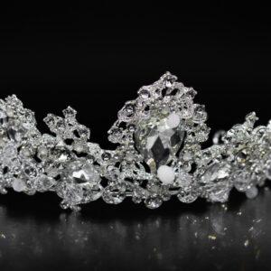 Hochzeitsdiadem Kristall
