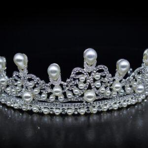 Hochzeit Diadem mit Perlen