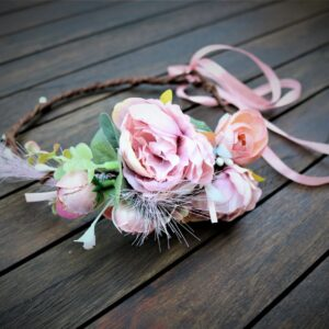 Blumenkranz Mauve