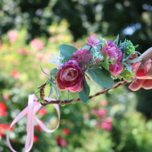 Blumenkranz Purpur