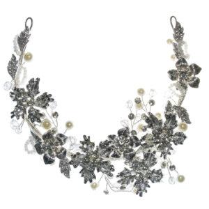 Silber Handgemachte Hochzeit Hair Jewelry