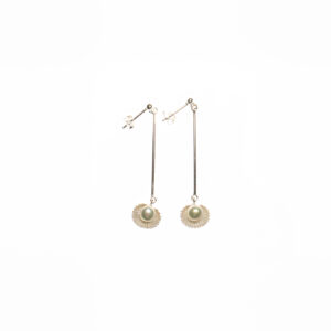 Ohrringe aus 925er Sterlingsilber mit Süßwasserperlen