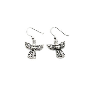 925 Sterling Silber Angel Ohrringe