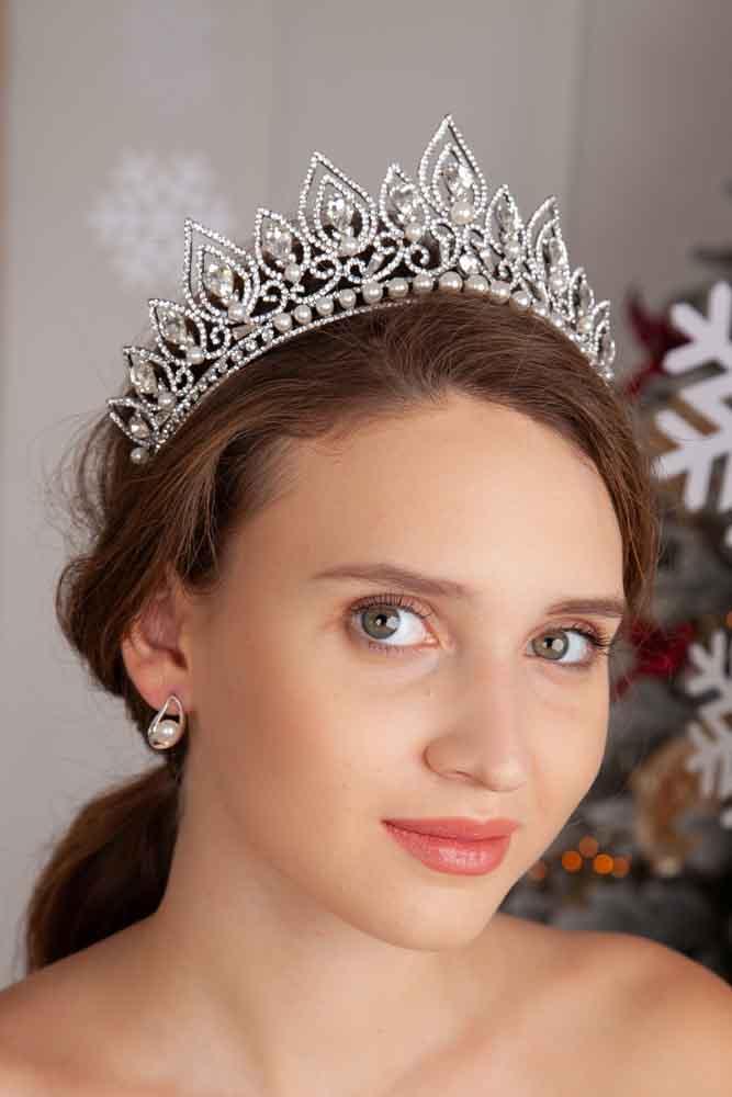 Hochzeit Diadem mit Perlen - Maria´s Silver