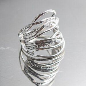 925 Sterling Silber Ring Waldmagie
