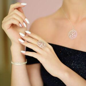 Sterling Silber Ring 925