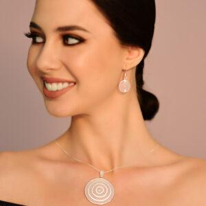 Ohrringe aus 925 Sterling Silber