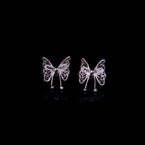 Ohrstecker Schmetterling aus Sterling Silber 925