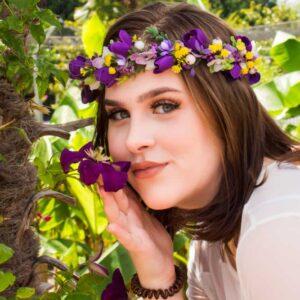 Blumenkranz Elfe-Krokuss