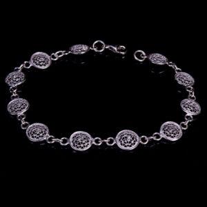 Designer Armband aus 925 Sterling Silber